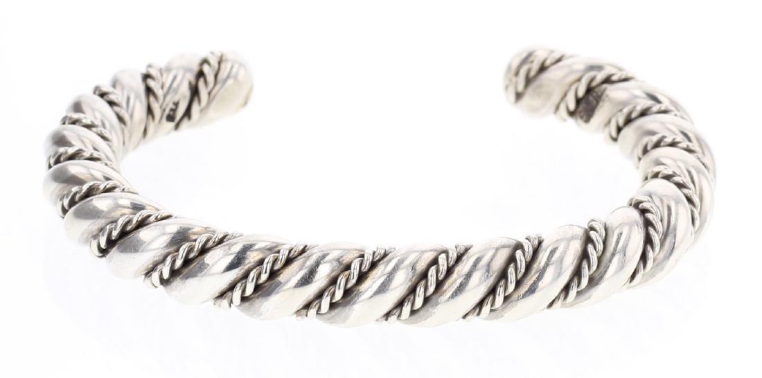 Heavy Gauge Twist Wire Bracelet