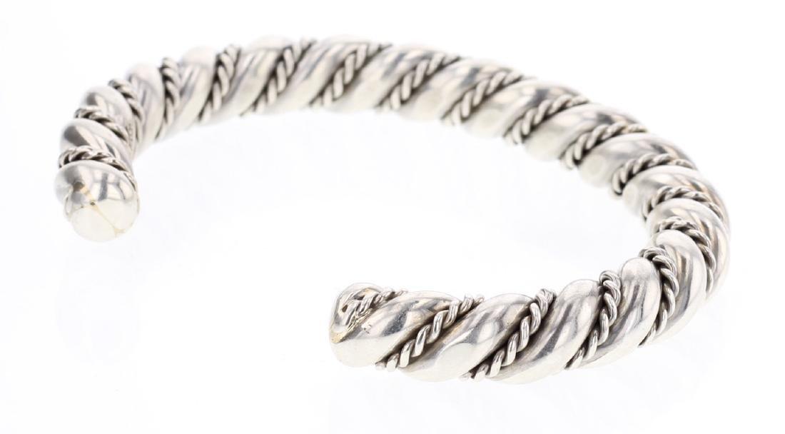 Heavy Gauge Twist Wire Bracelet - 2