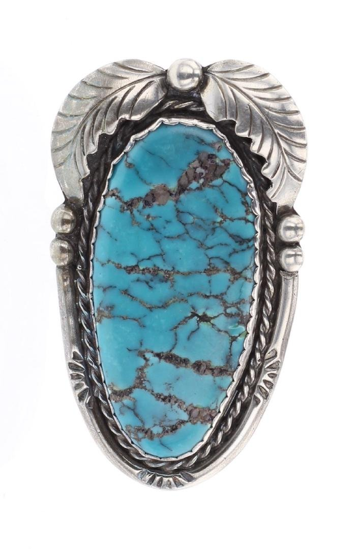D. Catero Vintage Turquoise Ring