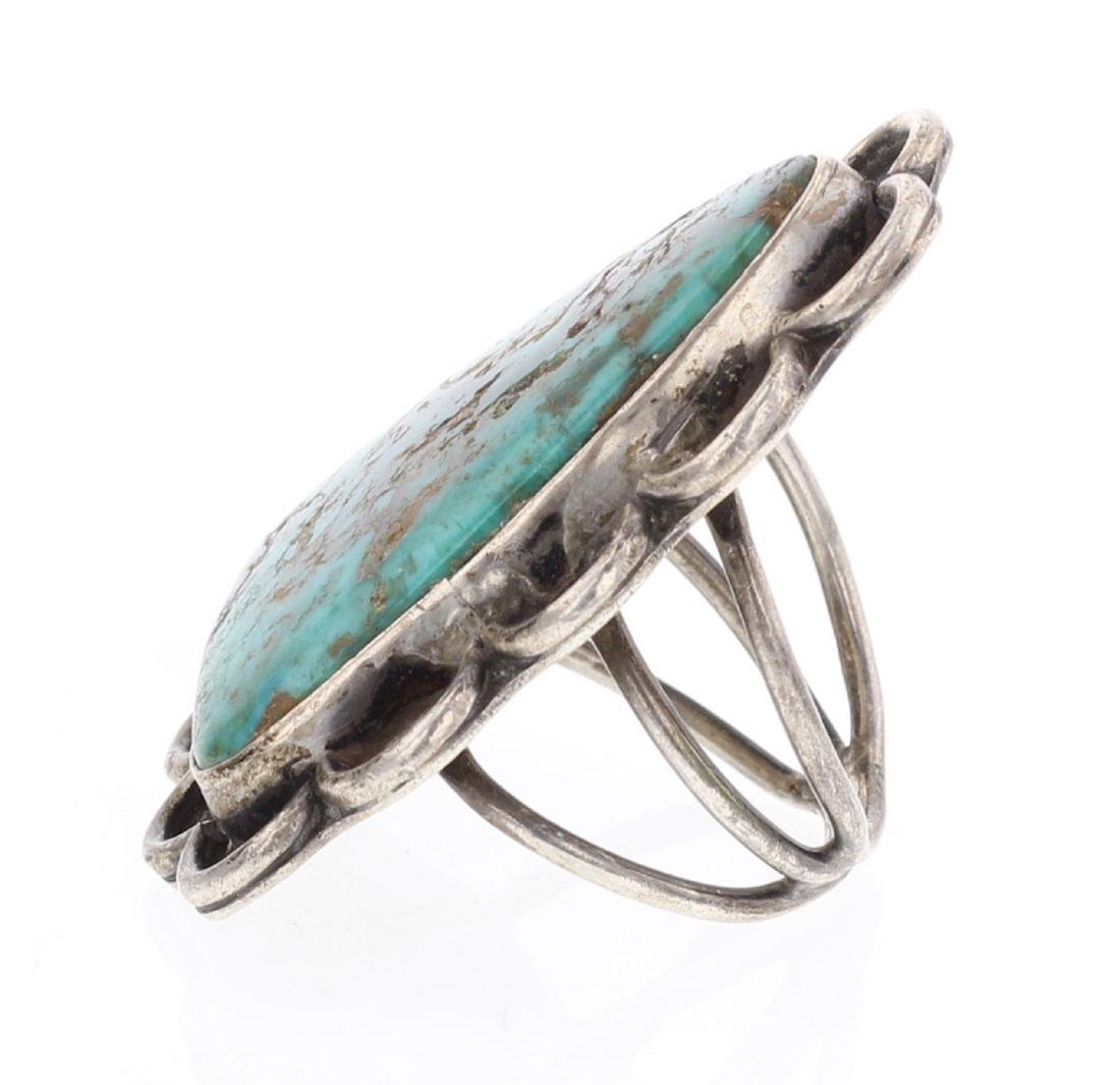 Old Pawn Turquoise Ring - 2