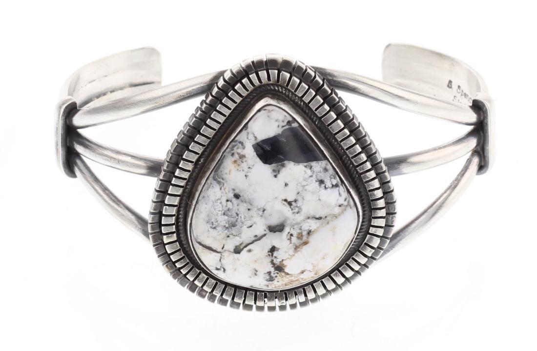 Larry Spencer White Buffalo Contemporary Bracelet