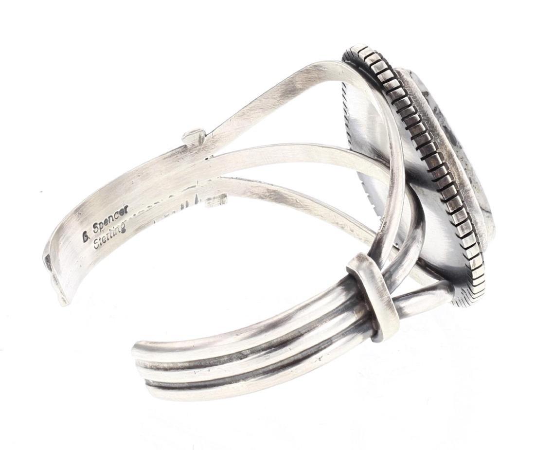 Larry Spencer White Buffalo Contemporary Bracelet - 2
