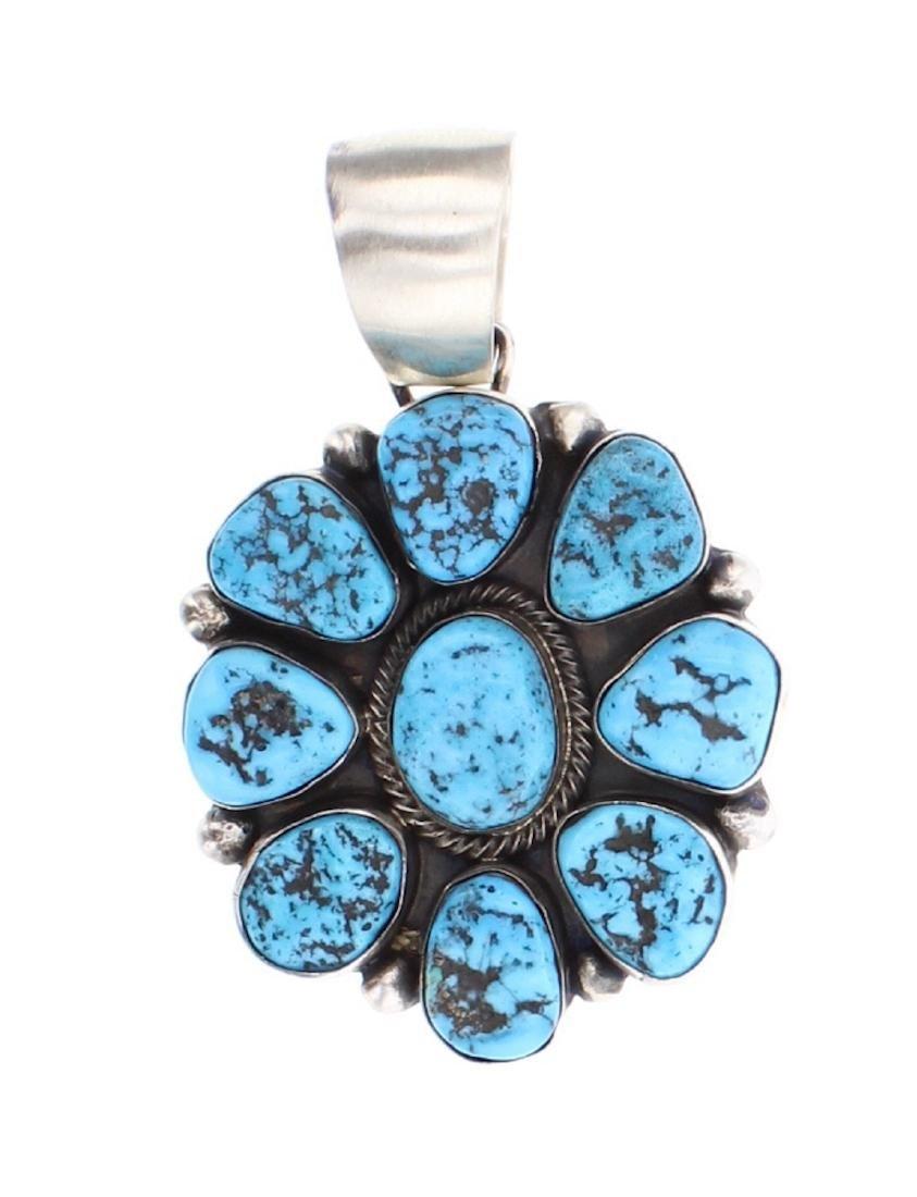 Raymond Beard Contemporary Kingman Turquoise Pendant