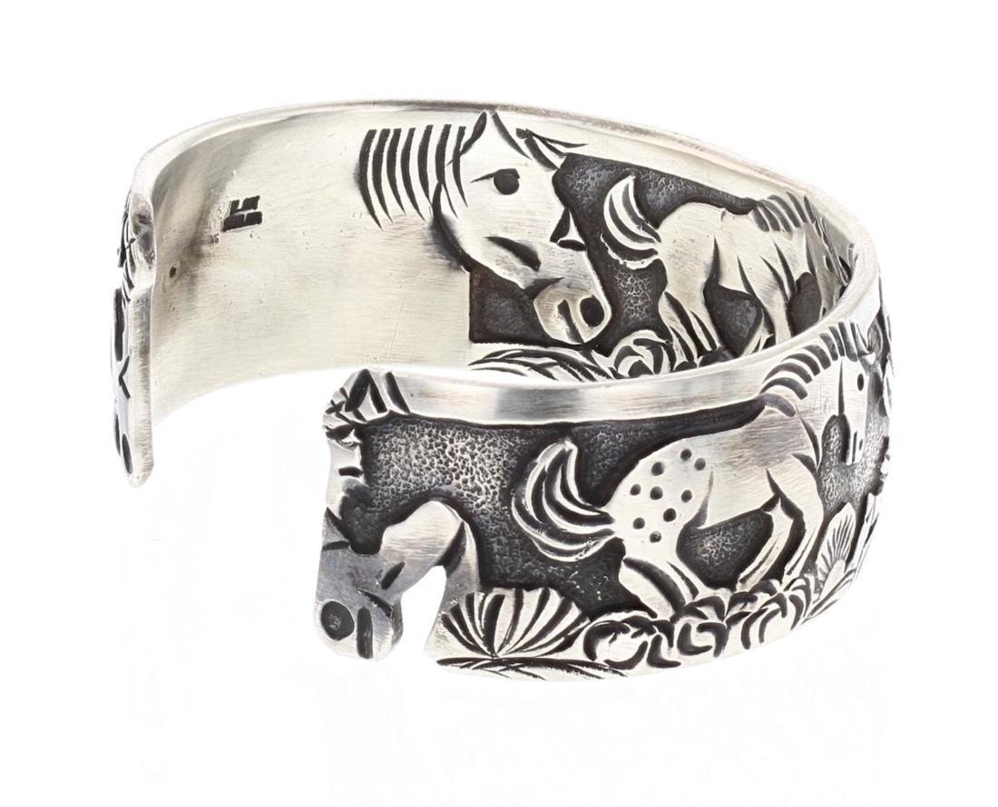Overlay Horse Story Teller Design Bracelet In & Out - 2