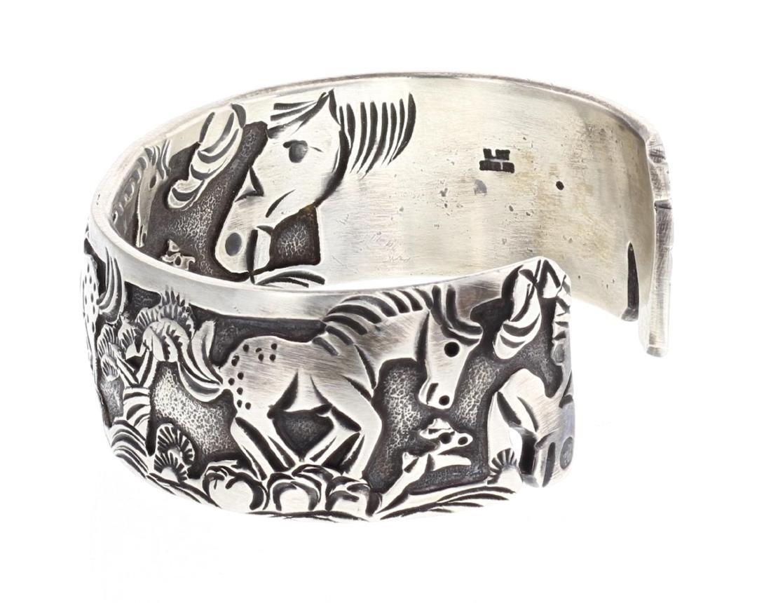 Overlay Horse Story Teller Design Bracelet In & Out - 3