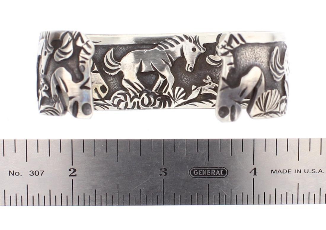 Overlay Horse Story Teller Design Bracelet In & Out - 4
