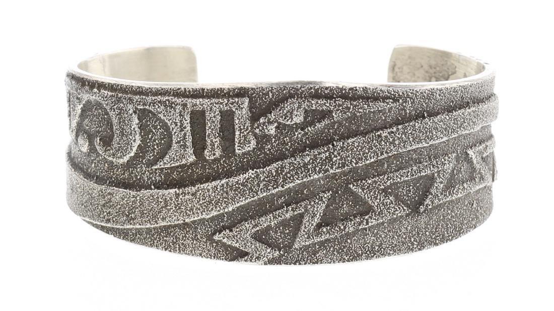 Tufa Cast Aztec Design Bracelet