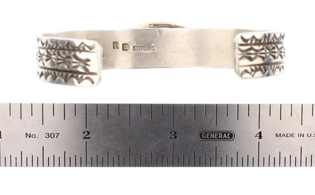 Rick Enriquez Turquoise Stamp Bracelet - 3