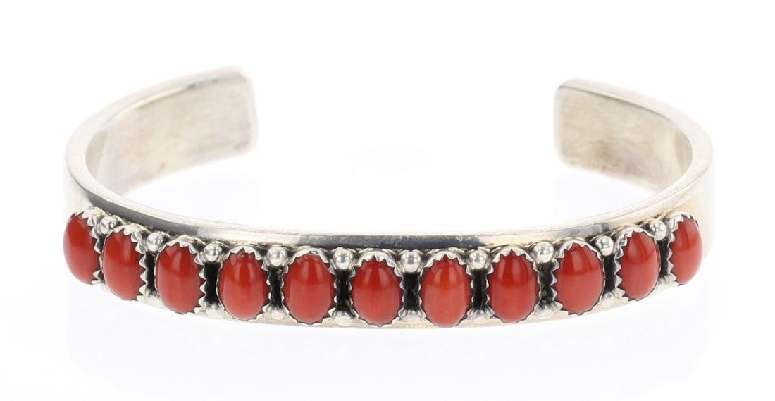 Darren Livingston Coral Row Bracelet