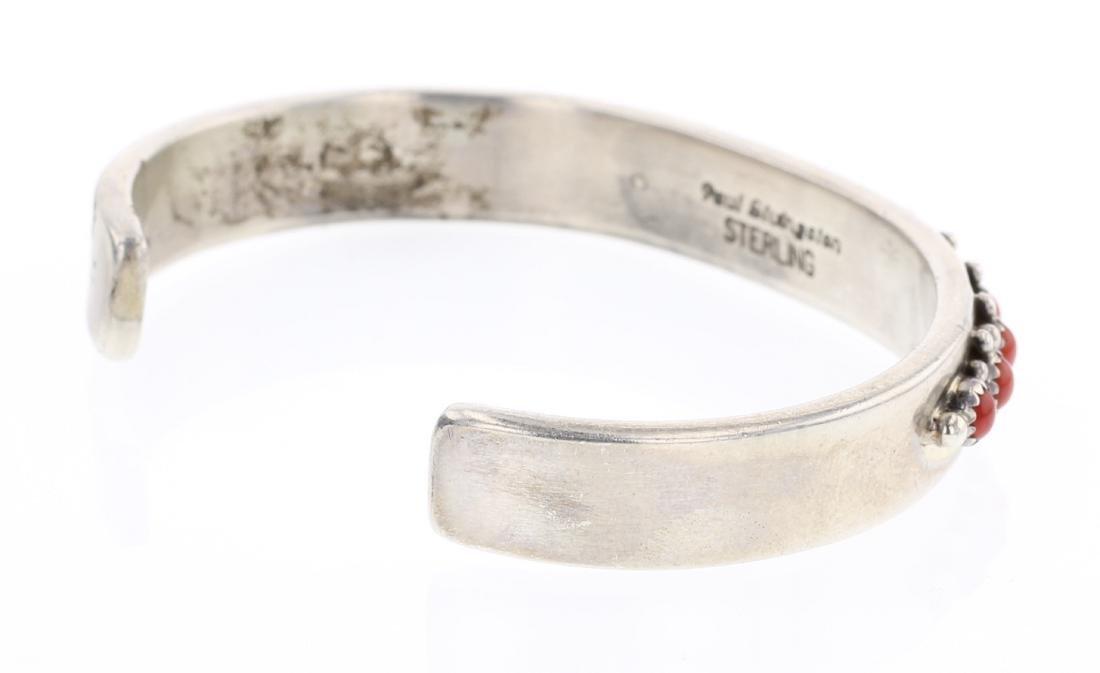 Paul Livingston Coral Row Bracelet - 2