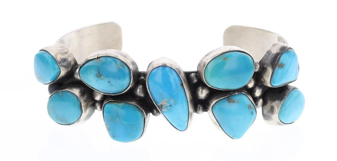 Bobby Johnson Kingman Turquoise Bracelet