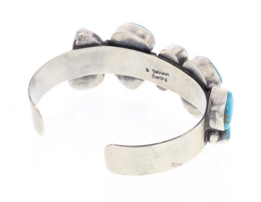 Bobby Johnson Kingman Turquoise Bracelet - 2