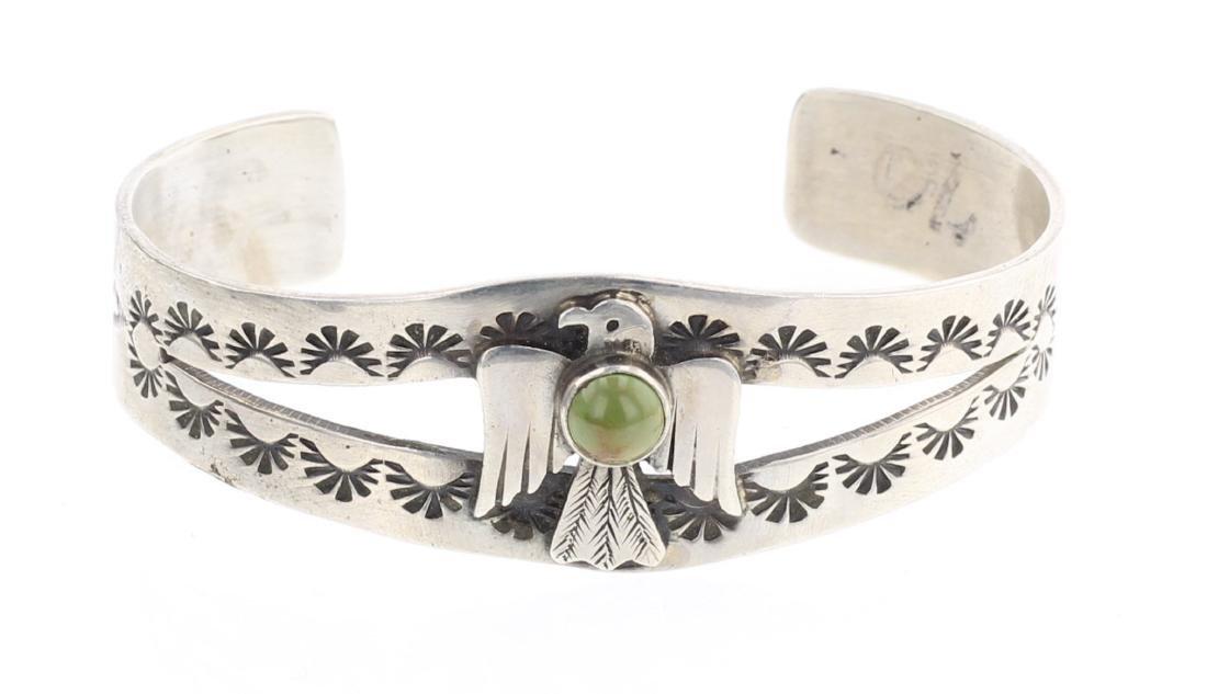 Harold Becenti Turquoise Cuff Bracelet