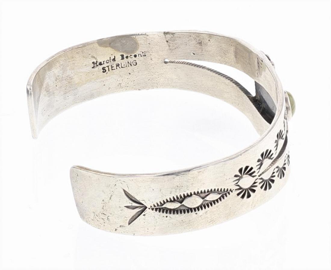 Harold Becenti Turquoise Cuff Bracelet - 2