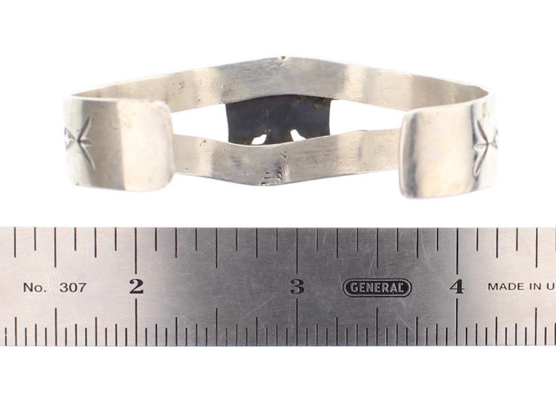 Harold Becenti Turquoise Cuff Bracelet - 3