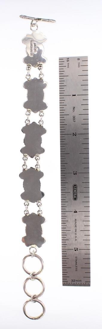 Kathleen Chavez Turquoise Link Bracelet - 2