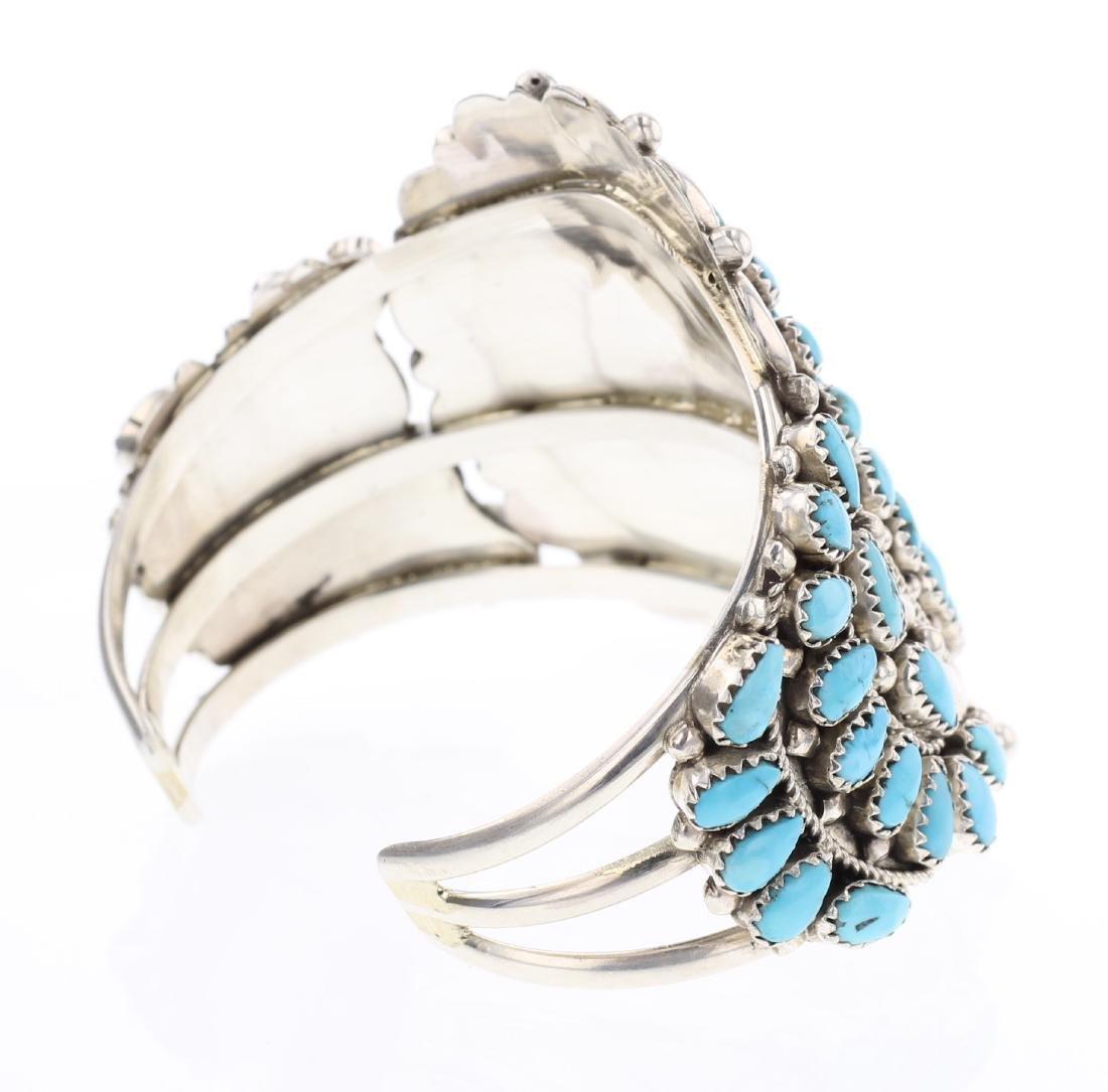 Turquoise Cluster Bracelet - 2