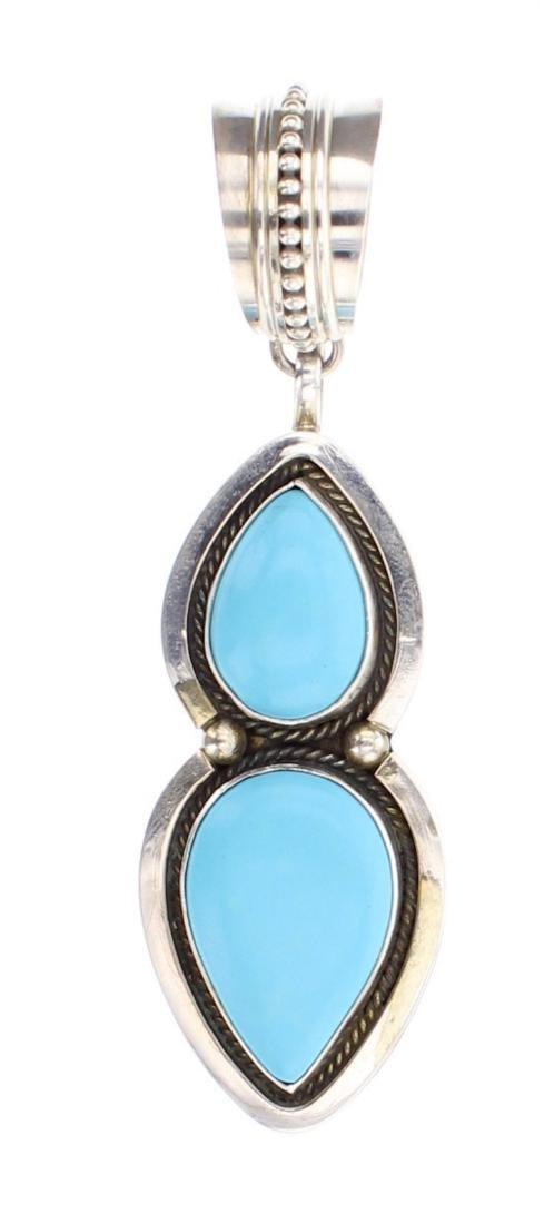 M&R Calladito Turquoise Contemporary Pendant