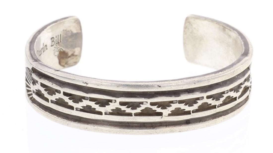Darin Bill Overlay Vintage Cuff Bracelet