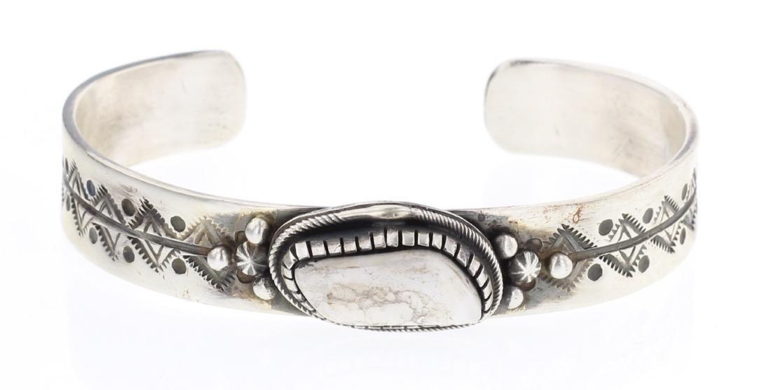 Lorenzo Juan White Buffalo Bracelet