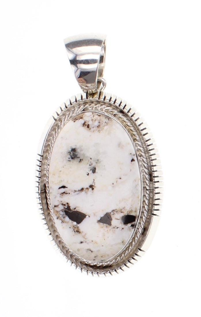 Larry Spencer Contemporary White Buffalo Pendant