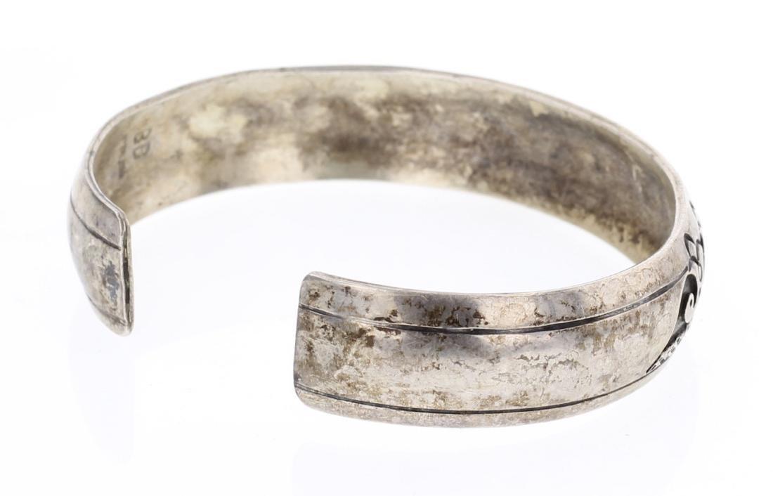 Overlay Vintage Old Pawn Hopi Bracelet - 2