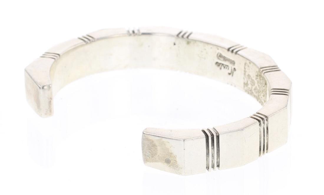 Nusie Belon Vintage Rectangle Cuff Bracelet - 2