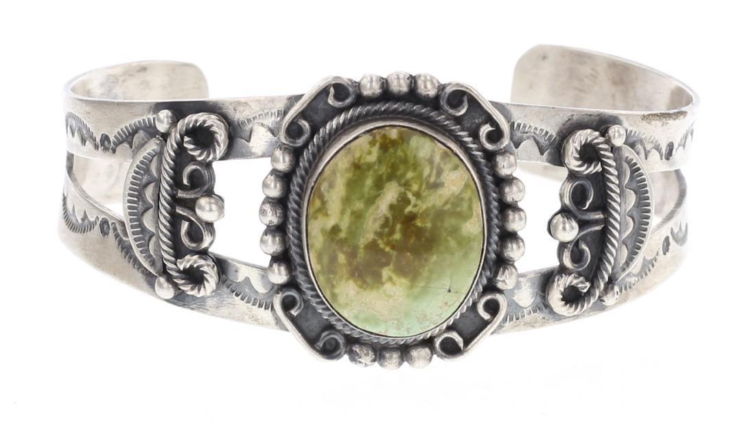 Bobby Johnson Turquoise Cuff Bracelet