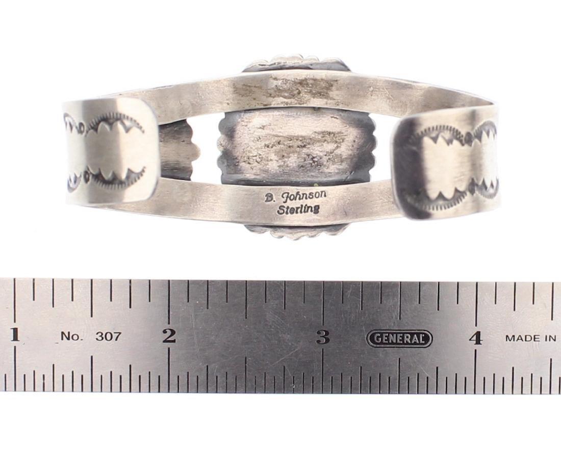 Bobby Johnson Turquoise Cuff Bracelet - 3