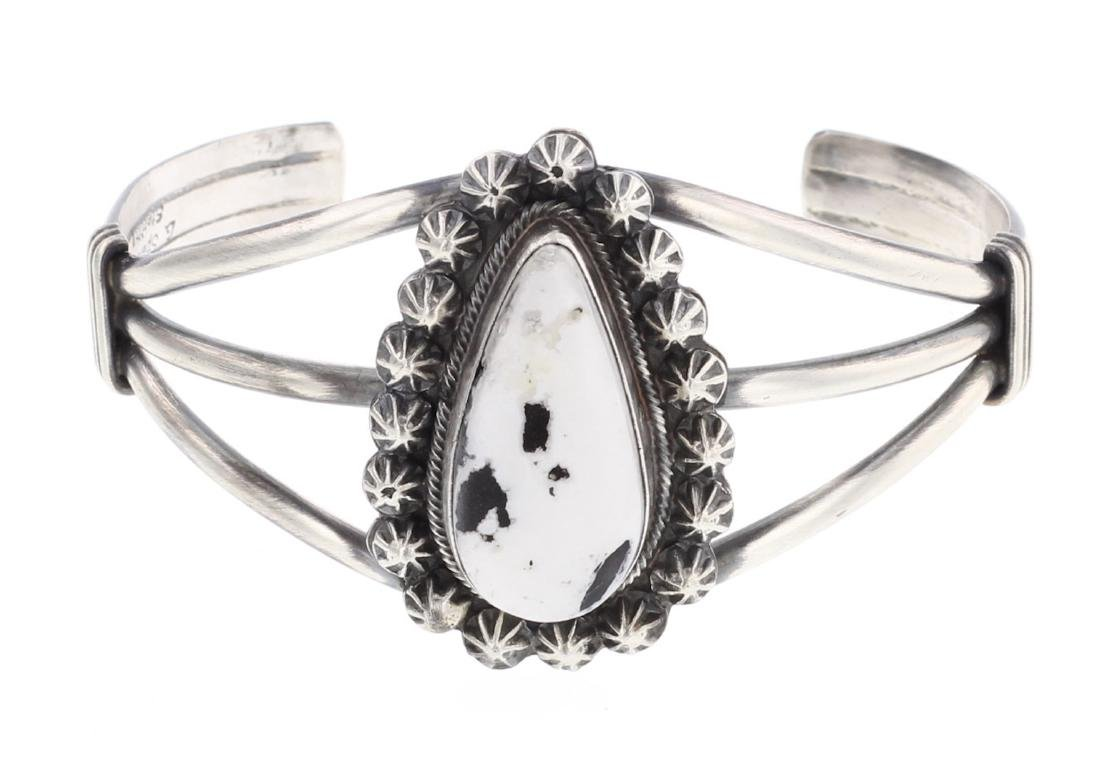 Larry Spencer White Buffalo Bracelet
