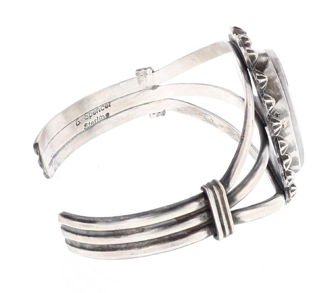 Larry Spencer White Buffalo Bracelet - 2