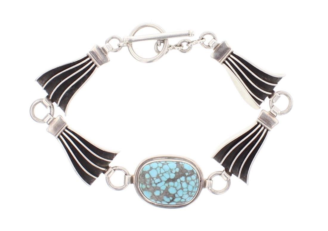 Bahe Turquoise Link Bracelet