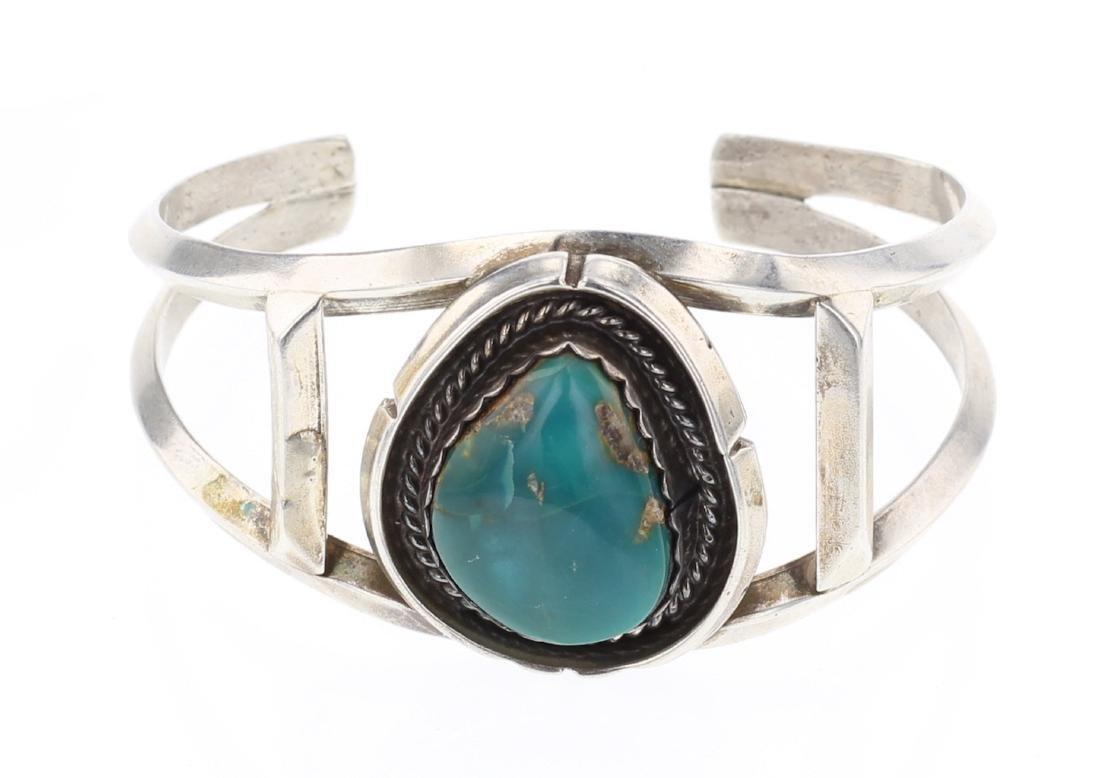 Turquoise Vintage Cuff Bracelet