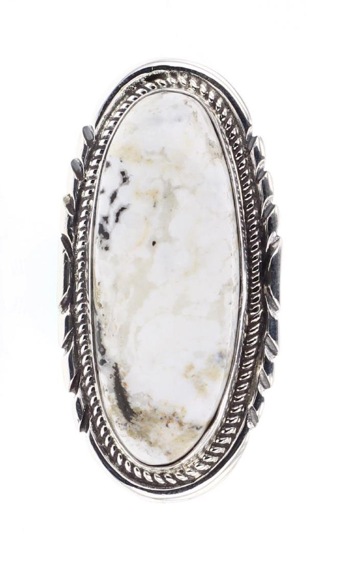 Richard Hoskie White Buffalo Contemporary Ring