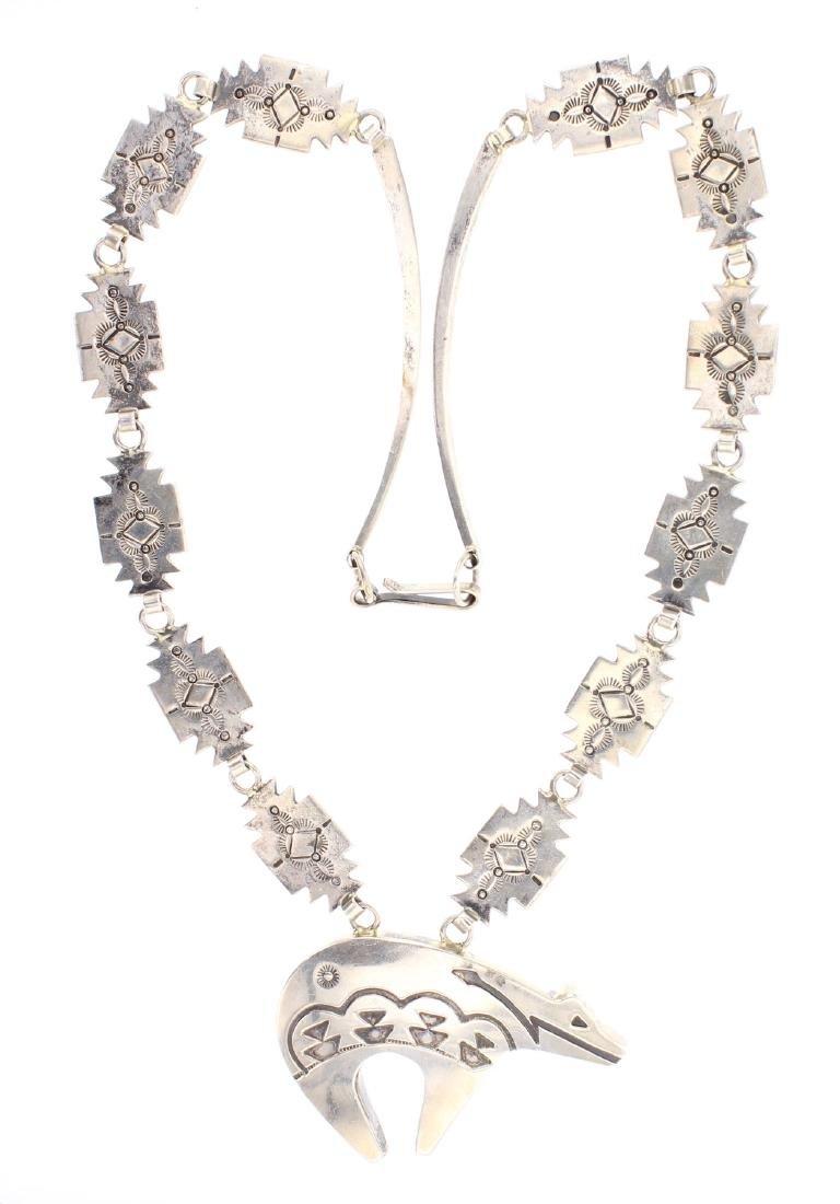 Vintage Bear Necklace