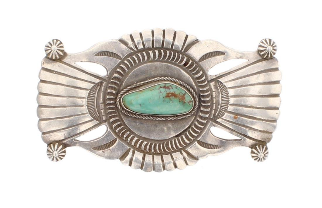 Turquoise Vintage Old Pawn Pin
