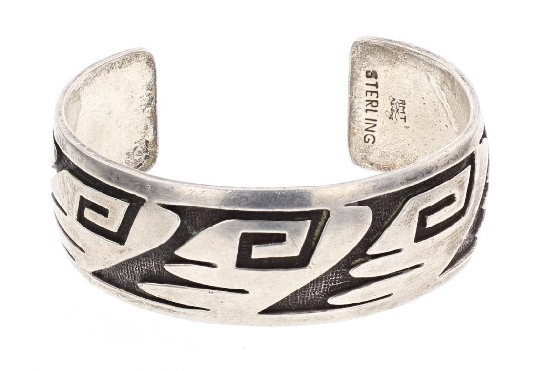 Roderick & Marilyn Tenorio Overlay Cuff Bracelet