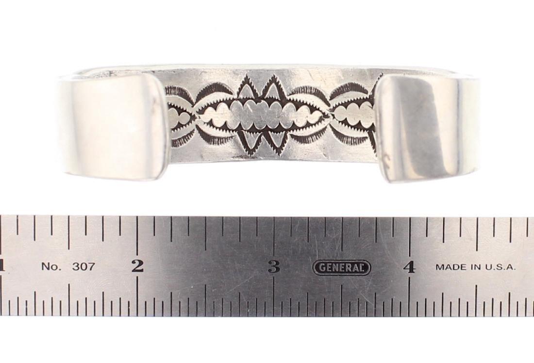 Darin Bill Vintage Overlay Cuff Bracelet - 3