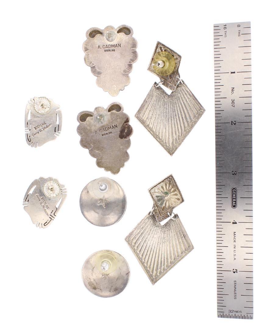 Genuine Multi Stone Earrings - 2