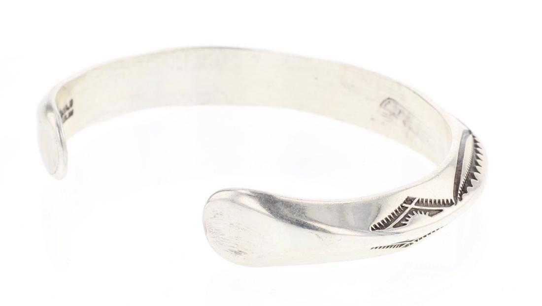 Jim Williams Vintage Overlay Triangle Bracelet - 2