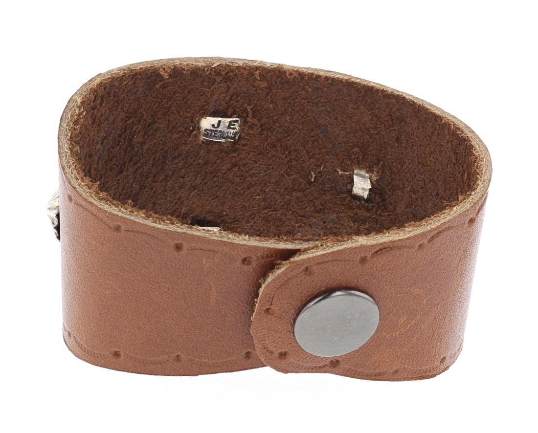Turquoise Leather Bracelet - 2