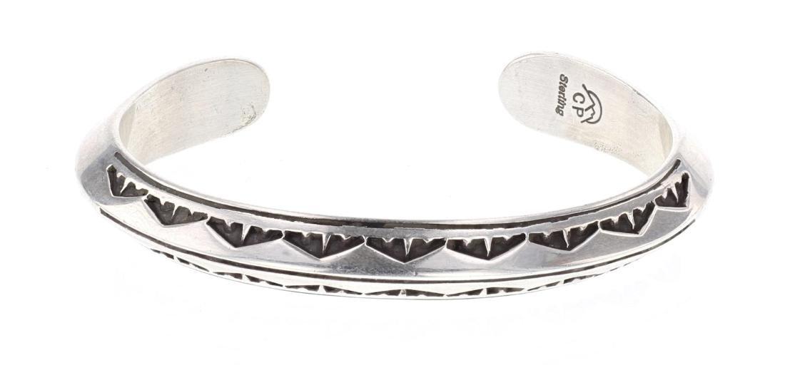 CP Vintage Triangle Cuff Bracelet