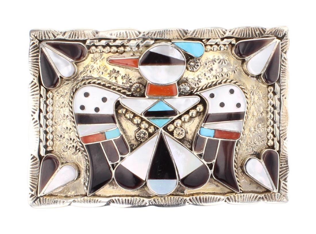 B Bobby & C Shack Genuine Multi Stone Vintage Inlay