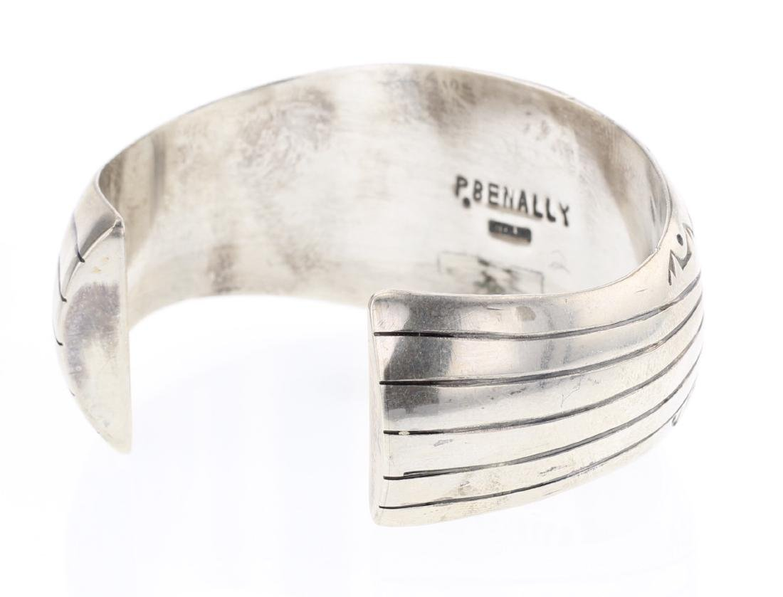 Pamela Benally Vintage Old Pawn Freeform Coral Shadow - 2