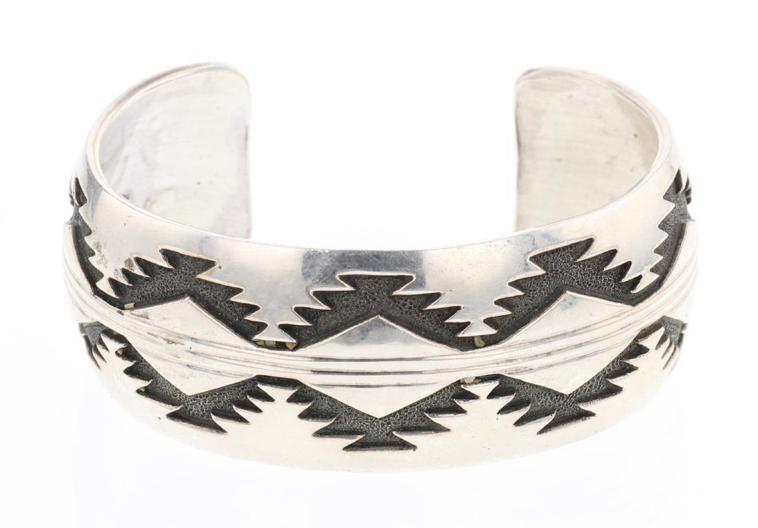 Overlay Vintage Cuff Bracelet