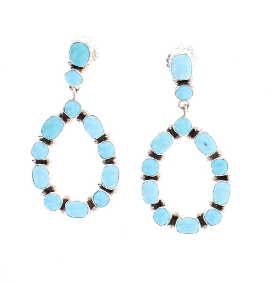 Wylie Contemporary Turquoise Earrings
