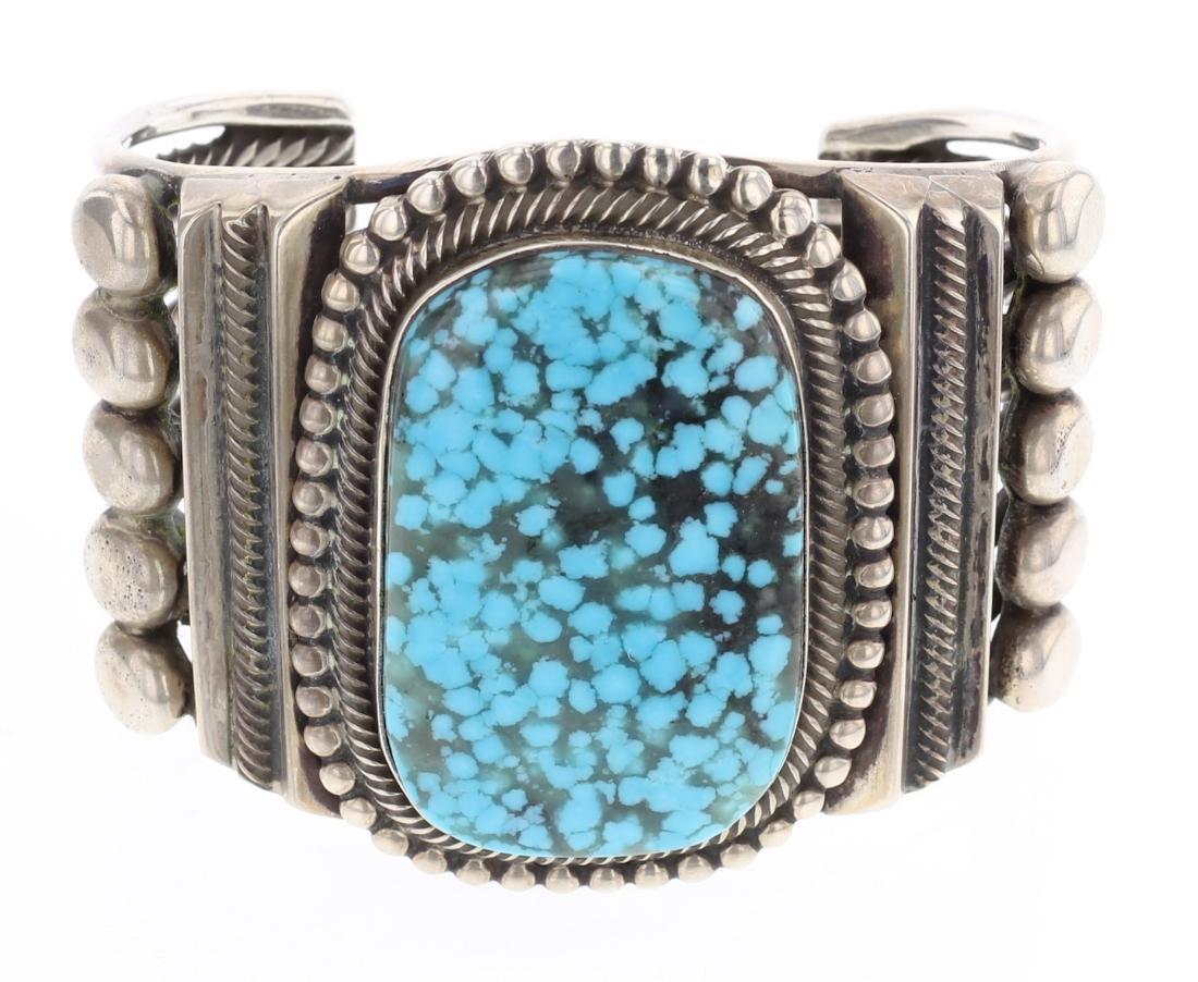 Rick Martinez Vintage Large Stone Cuff Bracelet
