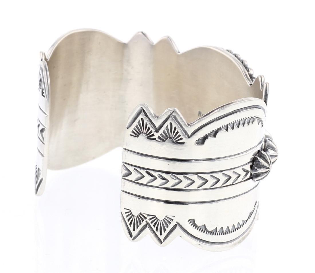 Ray Bennett Turquoise Drop Cuff Bracelet - 2