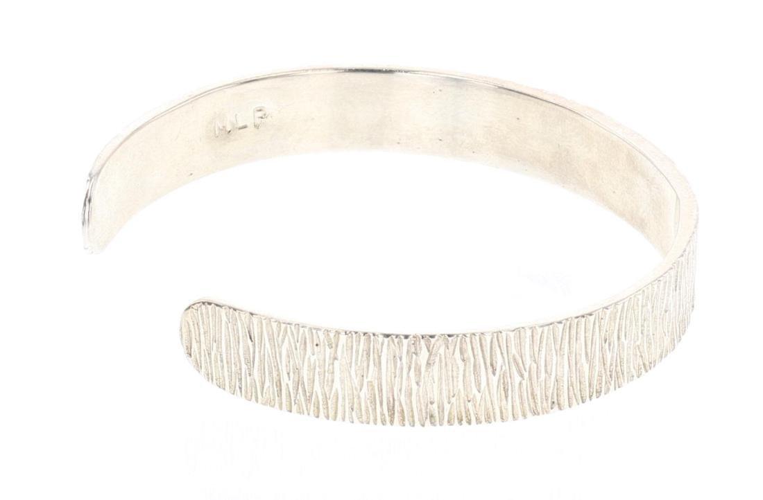 MLP 14K Accent Contemporary Etch Cuff Bracelet - 2