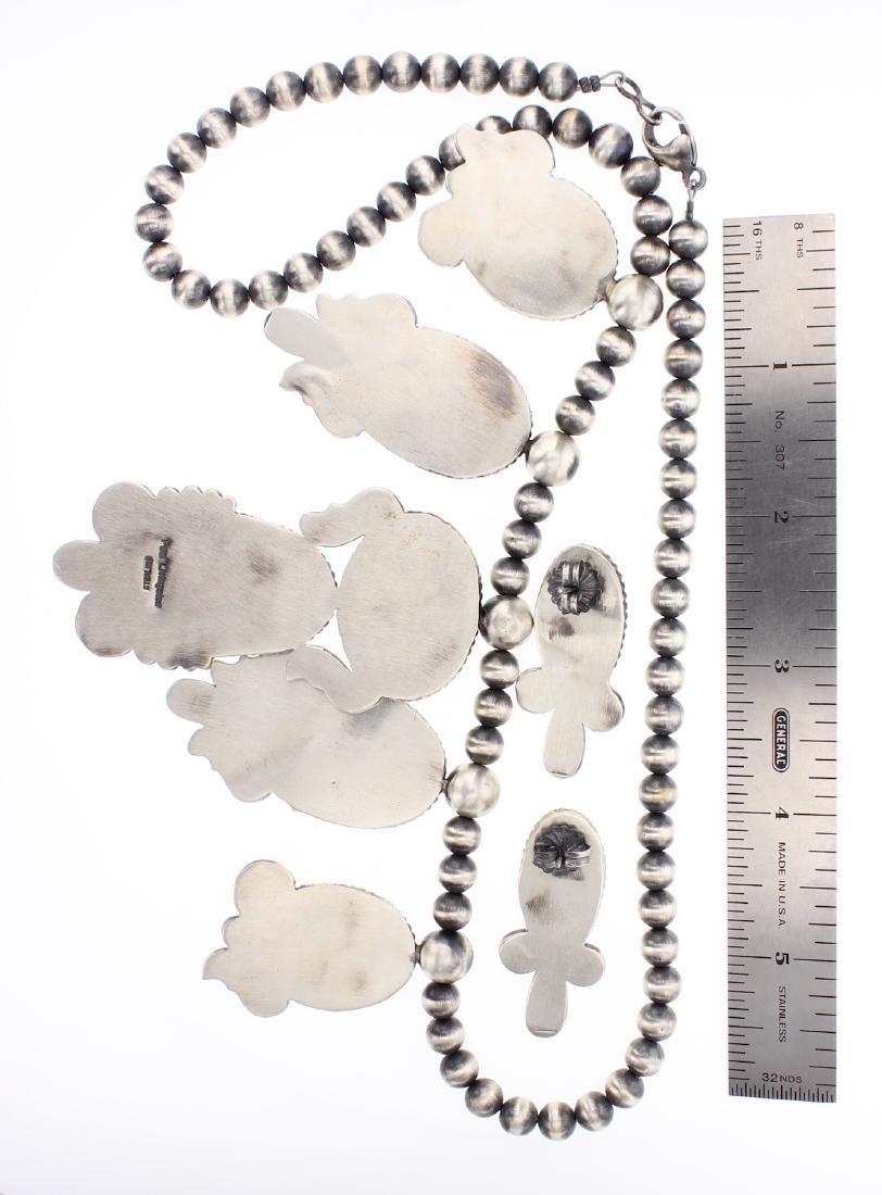 Paul Livingston Royston Large Turquoise Necklace & - 2